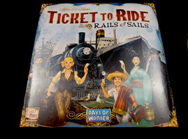 NIEUW: Ticket to Ride Rails en Sails