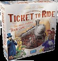 PRE-ORDER: Ticket to Ride 15th Anniversary Editie (NL)