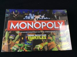 NIEUW: Monopoly Teenage Mutant Ninja Turtles
