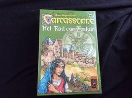 NIEUW: Carcassonne Het Rad van Fortuin