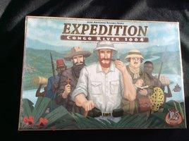 NIEUW: Expedition Congo River 1884 (beschadigd)