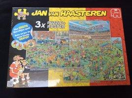 NIEUW: Jan Van Haasteren Bierviltjes Spel (met puzzles)