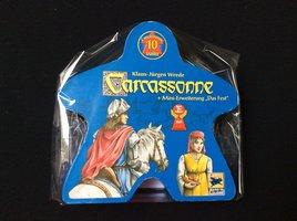 2dehands: Carcassonne 10 jaar met uitbreiding Das Fest (DE)