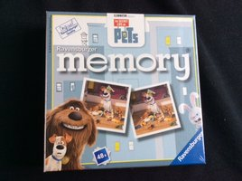 NIEUW: Memory the Secret Life of Pets