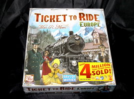 NIEUW: Ticket to Ride Europe