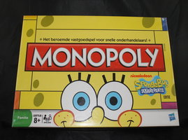 2dehands: Monopoly Spongebob Squarepants