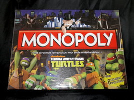 2dehands: Monopoly Teenage Mutant Ninja Turtles