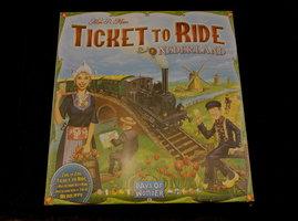 NIEUW: Ticket to Ride uitbreiding Nederland