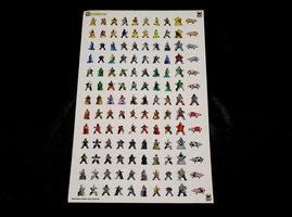 NIEUW: Meeple Stickers Carcassonne
