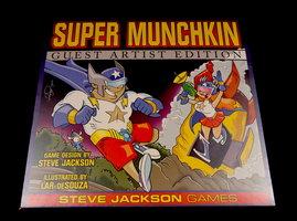NIEUW: Super Munchkin Guest Artist Edition (EN)