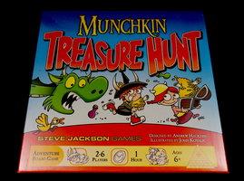 NIEUW: Munchkin Treasure Hunt (EN)