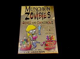 NIEUW: Munchkin Zombies Armed&Dangerous Exp. (EN)