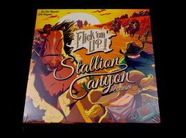 NIEUW: Flick 'em Up! Stallion Canyon Uitbreiding (Houten versie)