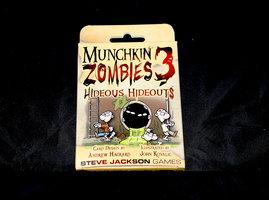 NIEUW: Munchkin Zombies Expansion 3 Hideous Hideouts (EN)