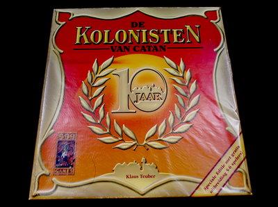 De Kolonisten van Catan 10 Jaar Jubileum Uitgave