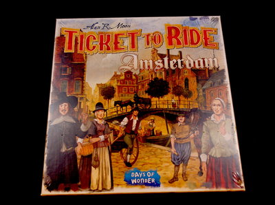 Ticket to Ride Amsterdam 1650