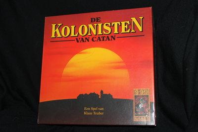De Kolonisten van Catan basisspel OUDE VERSIE