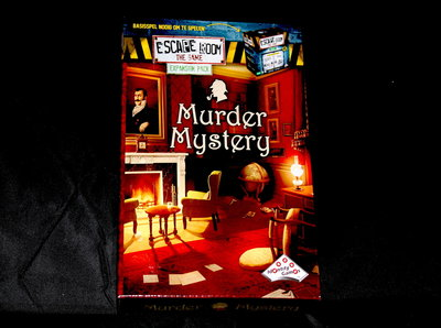 Escape Room Uitbreiding, Murder Mystery
