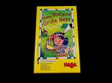 Kleine Vos wordt Grote Beer